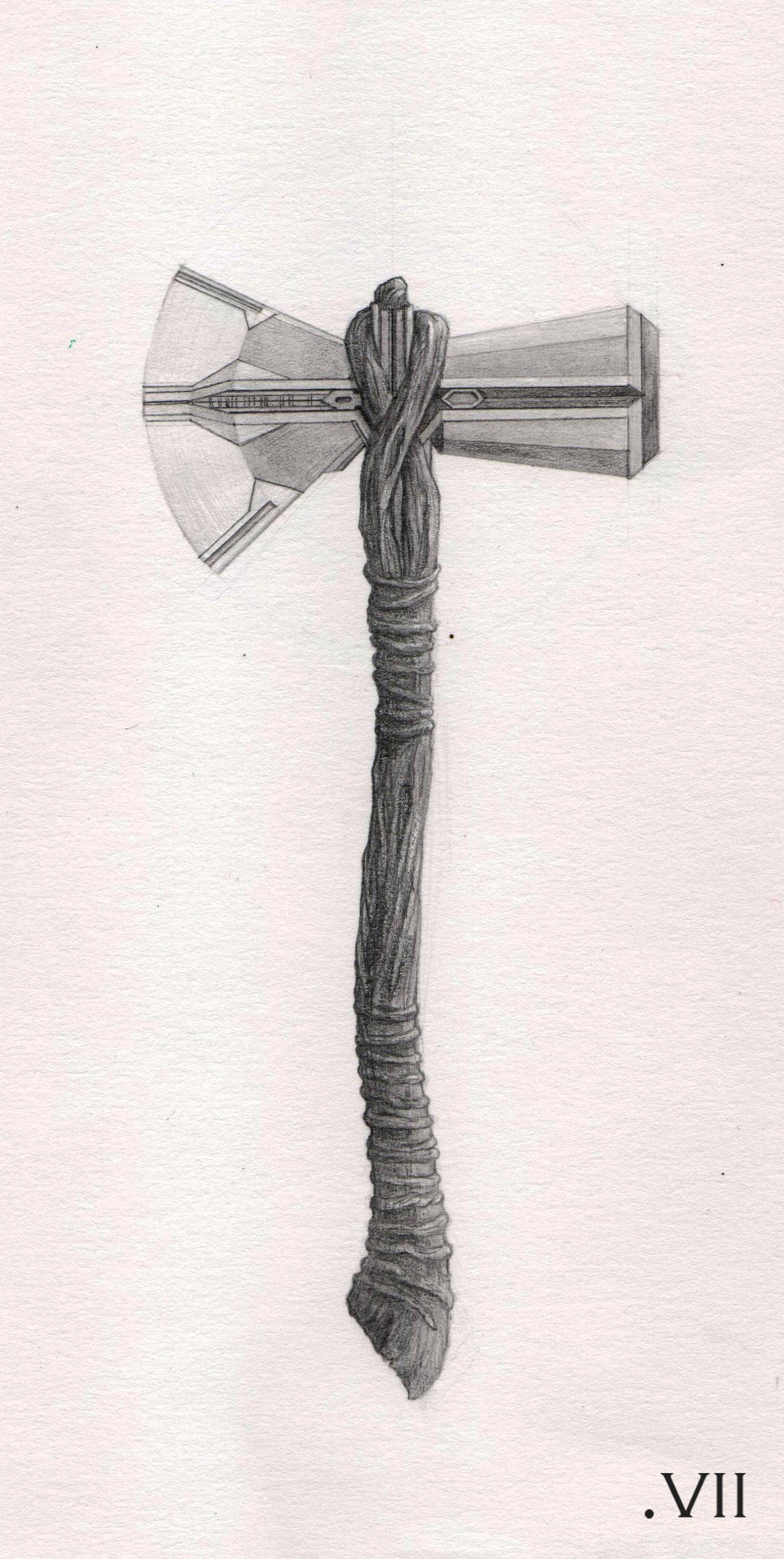 Avengers Symbol Pencil Drawing