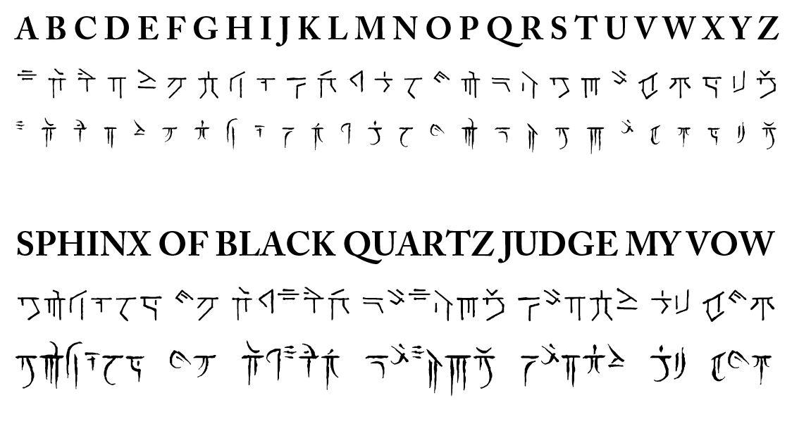 Oc Been Working On A Font For My 5e One Shot Set In The Future Of Toril Got To Give A Shout Out To A Website Called Calligraphr For Getting My Idea Off