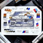A Drawing I Made Of The 2021 Bmw M5 Hope You Like It Bmw