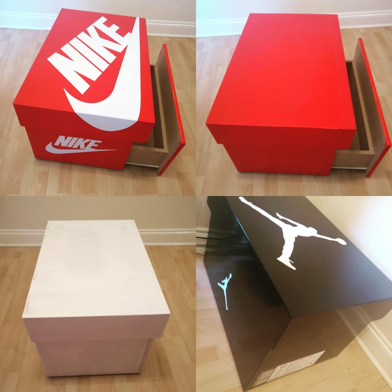 diy i ve now got a jordan big shoe box