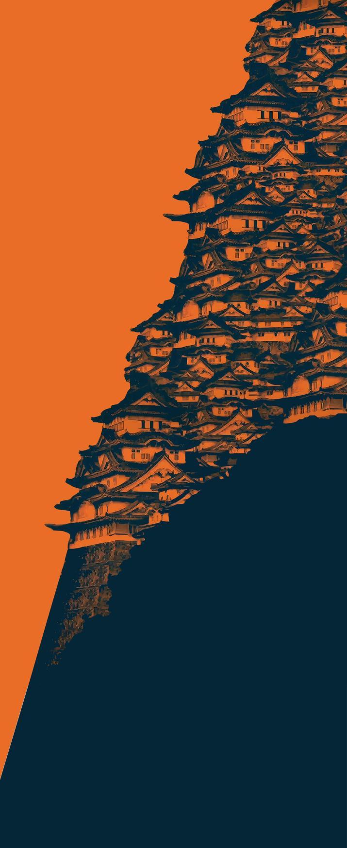 """Upscaled Nujabes OP"" [Samurai Champloo] (2160×5280)"