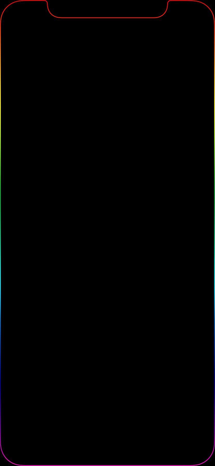 Iphone Xr Outline Wallpaper Hd