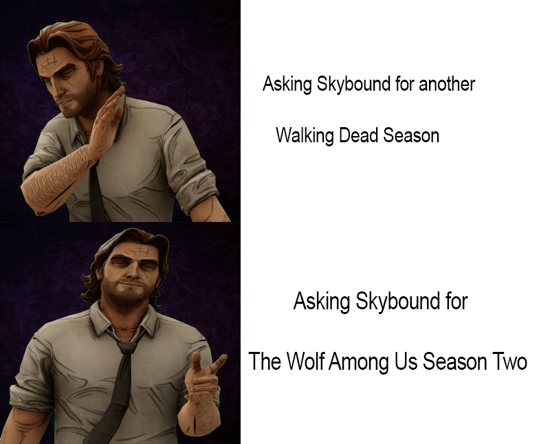 Who We Should Be Fighting For Thewalkingdeadgame