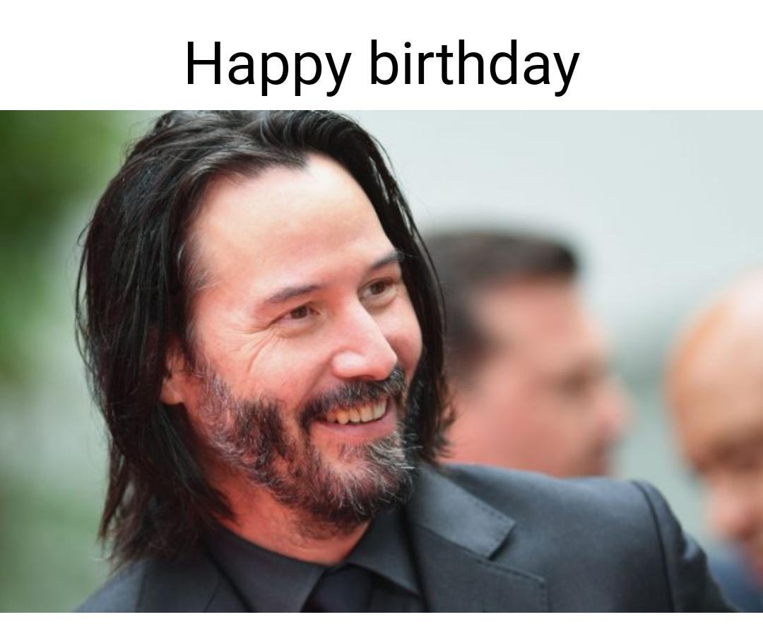 Happy Birthday Keanu Reeves Pewdiepiesubmissions