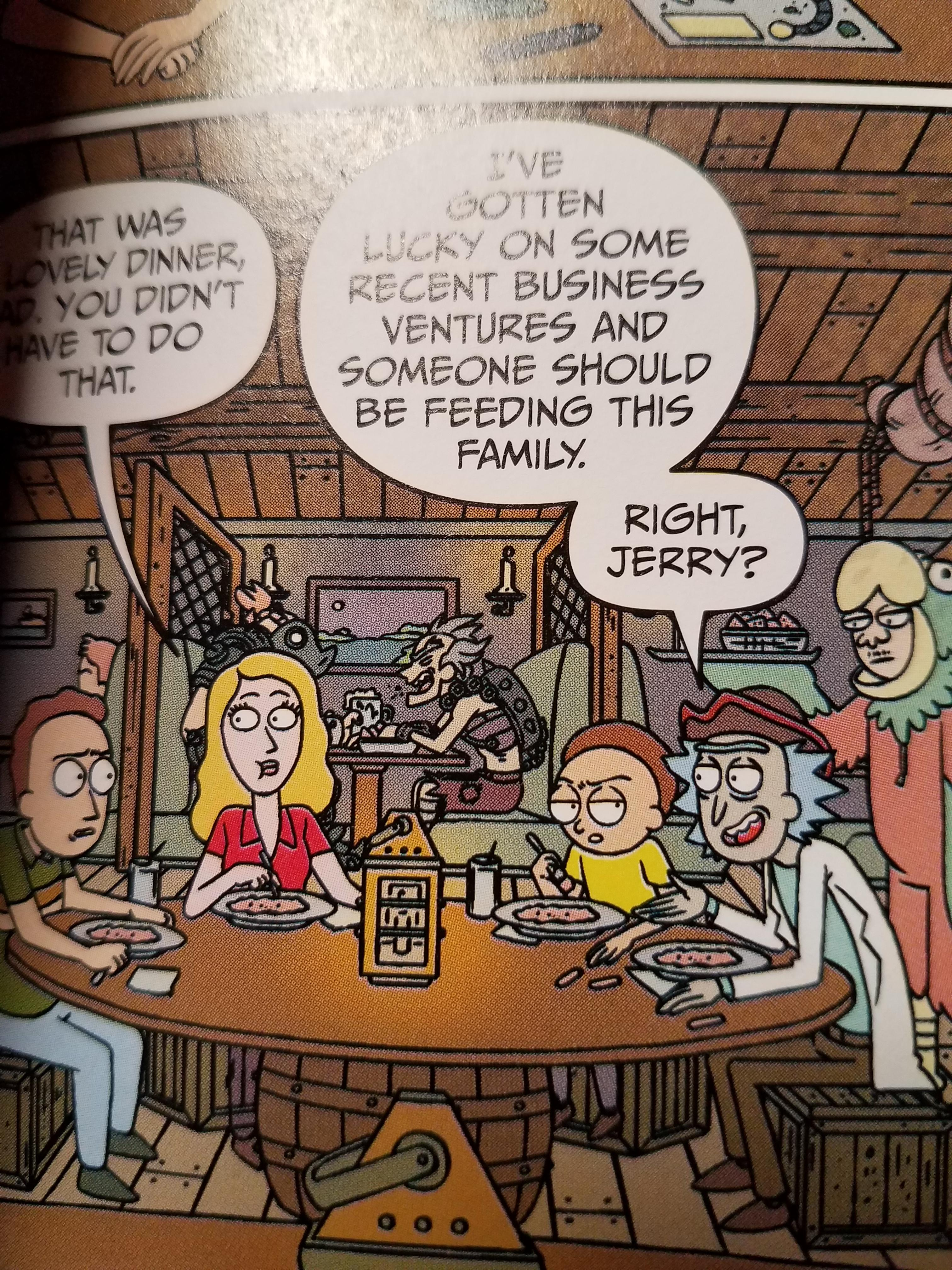Reading This Rick And Morty Comic Then OverwatchMemes