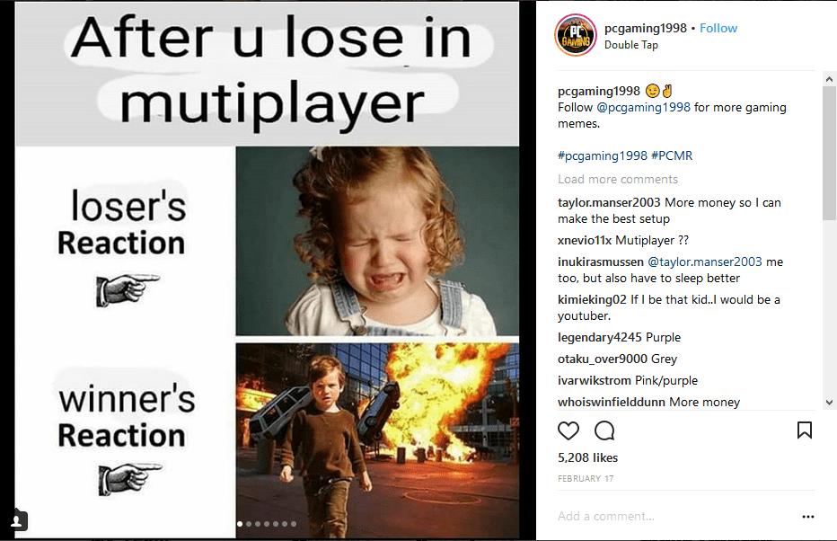 Quality Gamer Meme Comedycemetery