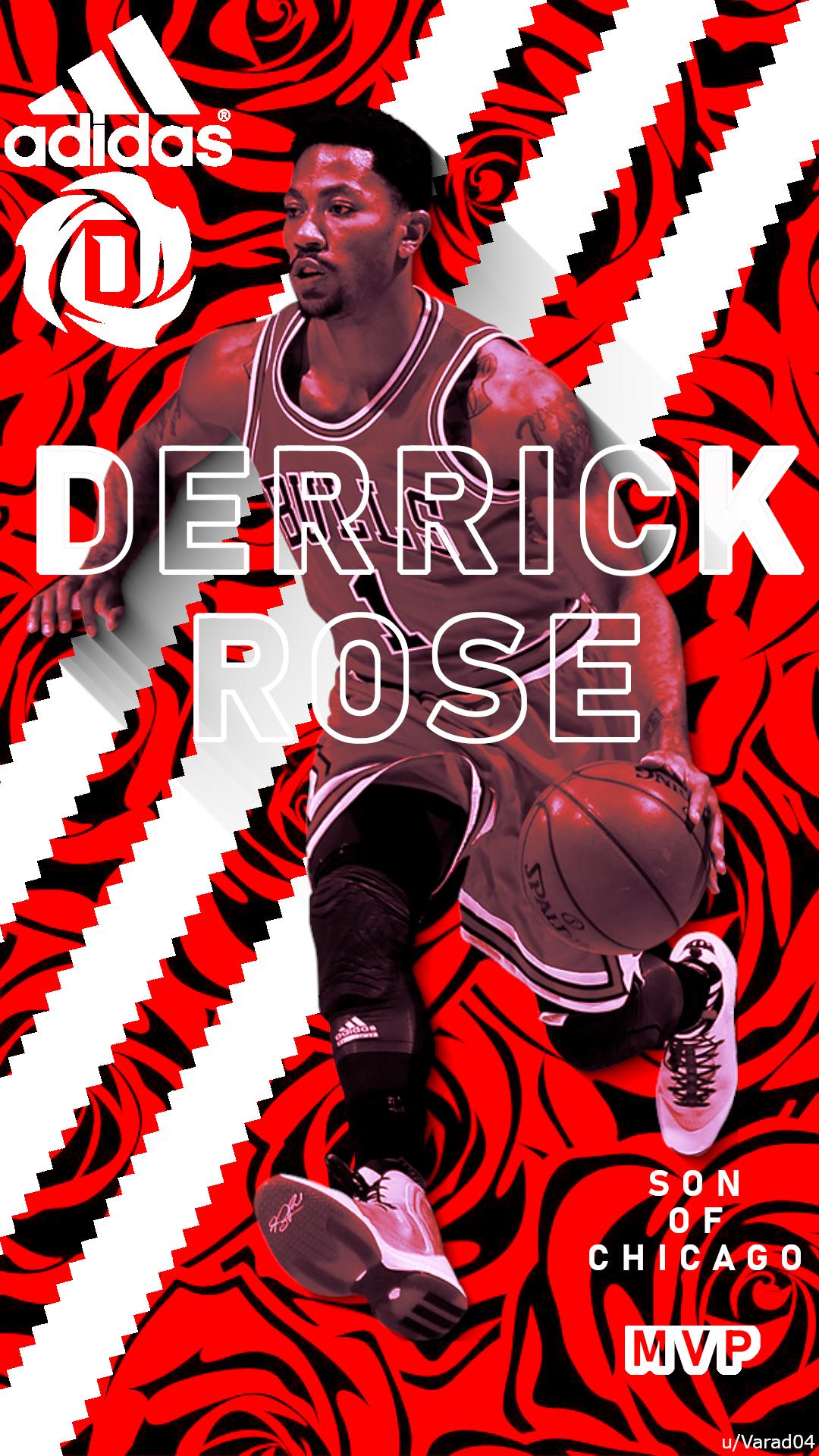 derrick rose adidas poster hope
