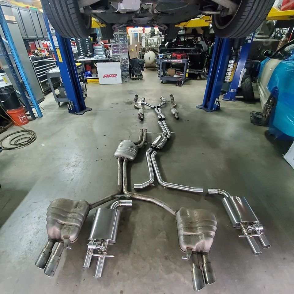 b8 s4 ecs valved exhaust video link