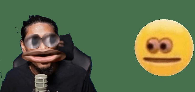 Thanks I Hate Upside Down Smile Emoji Emoji Meme On Me Me