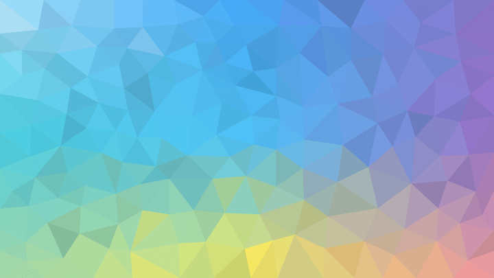 Lowpoly Material wallpaper, all resolutions available (SVG), made by me using Inkscape
