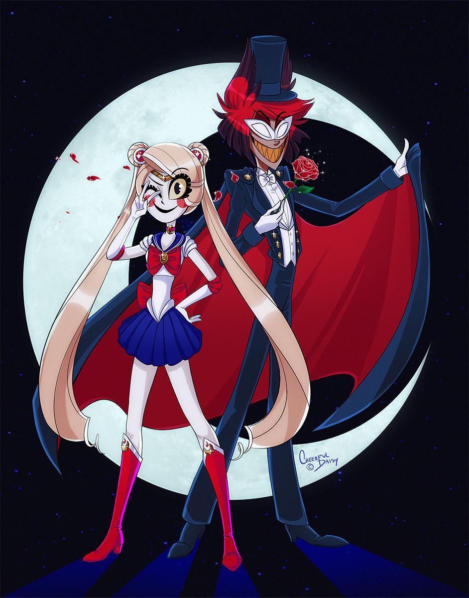I Am Sailor Moon Cheerfuldaisyart Hazbinhotel