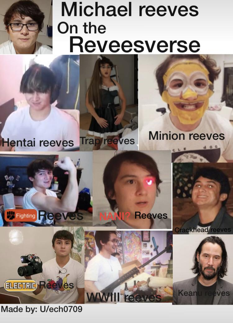 Michael Reeves On The Reveesverse Sorry For Bad Quality Made On
