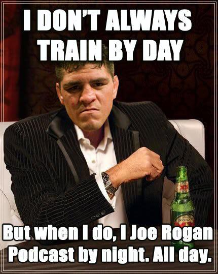 train by day joe rogan podcast by night