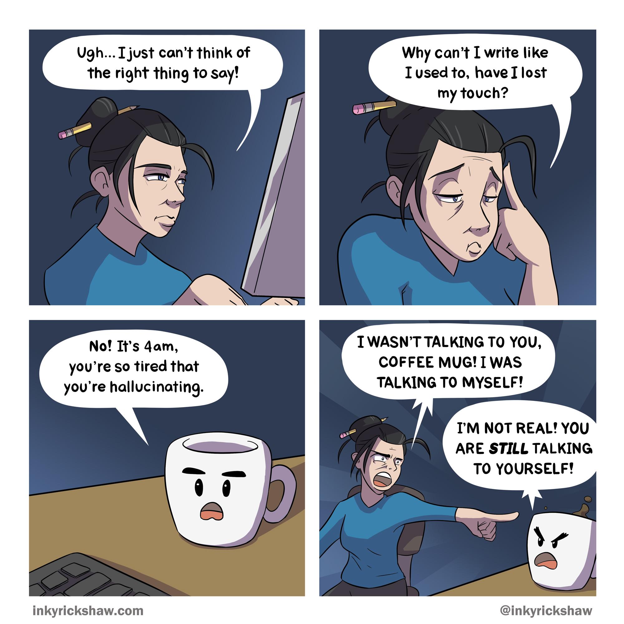 Internal Dialogue Oc Comics