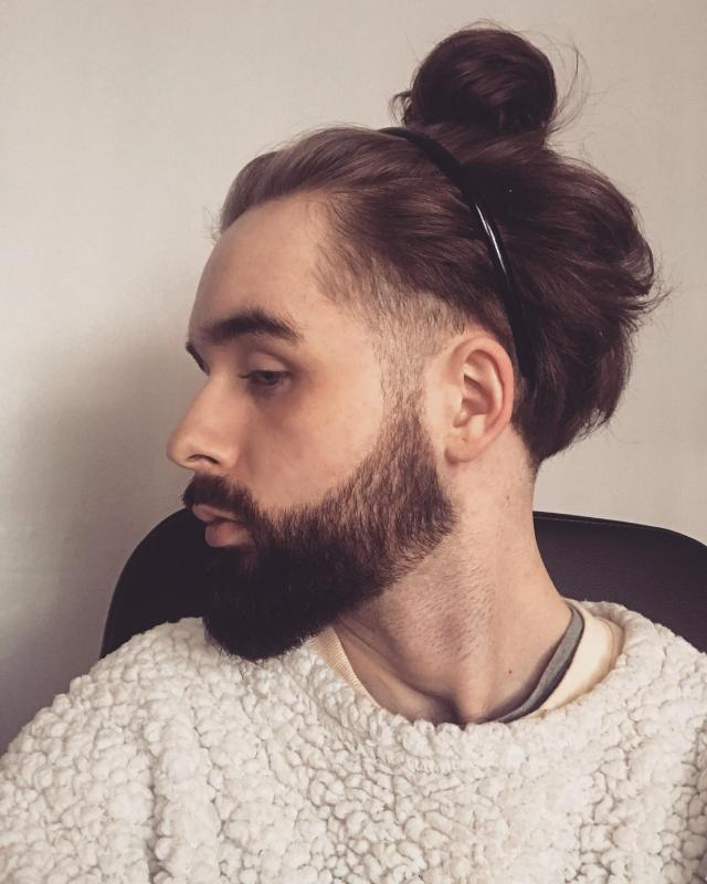in the process of growing my hair out, does this haircut