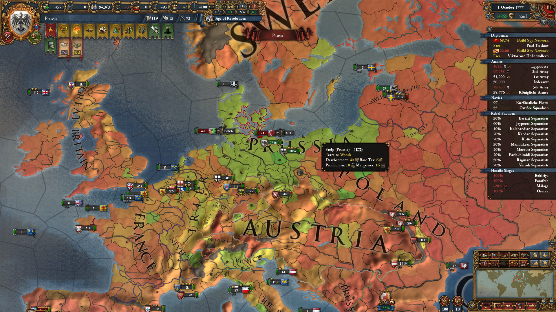 Who Says You Can T Play Tall Prussia Greenland Confirmed Eu4