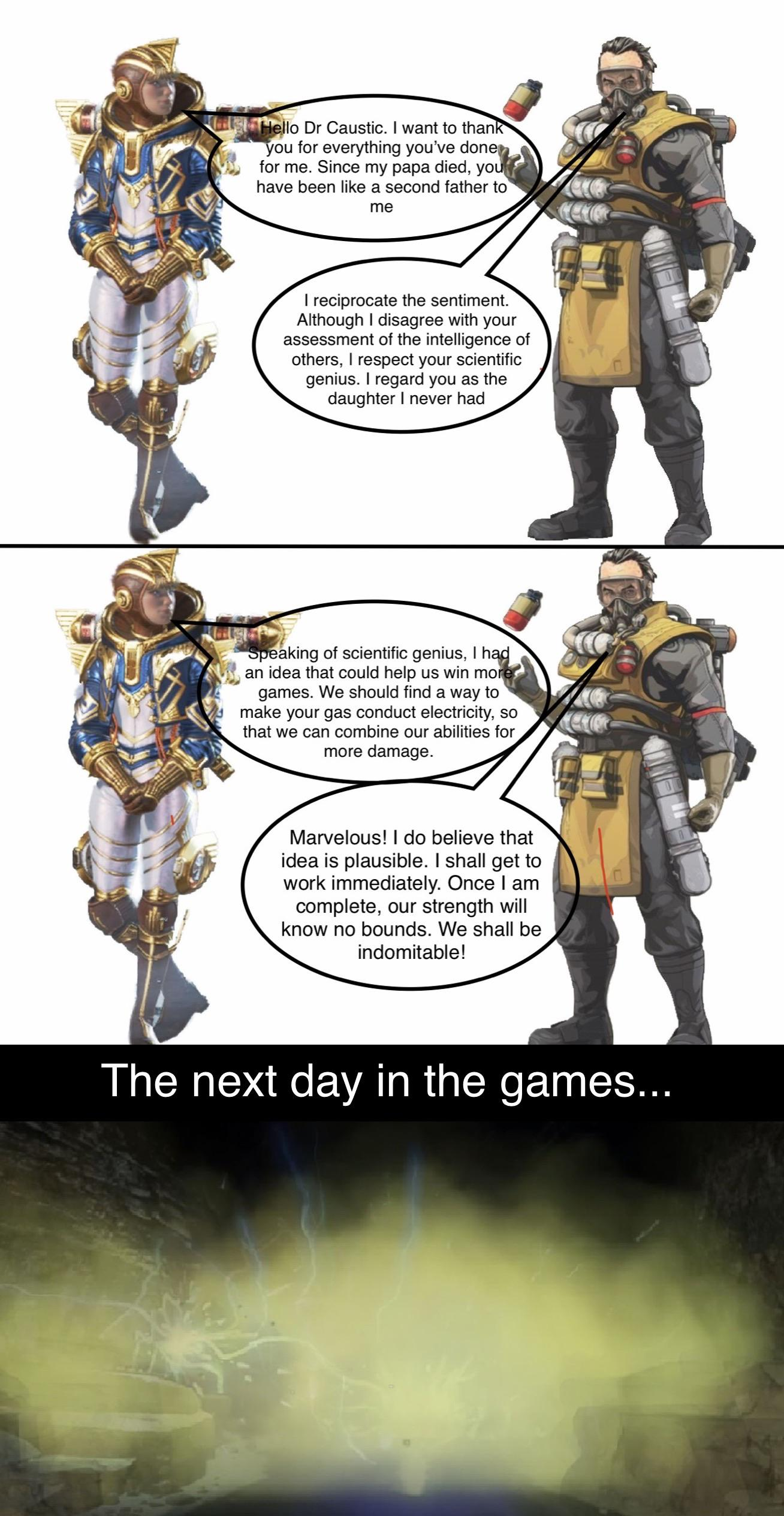 Any Other Wattson Mains Out There Apex Legends Meme Facebook