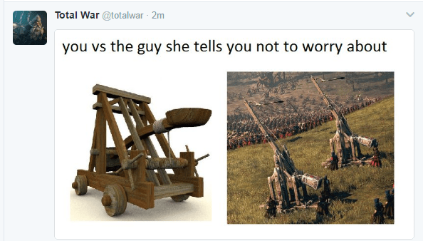 Total War S Twitter Launches The Memes Totalwar