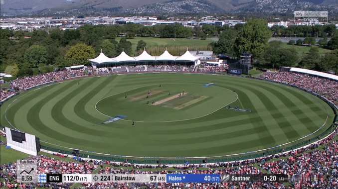 New Zealand has such beautiful looking grounds! : Cricket