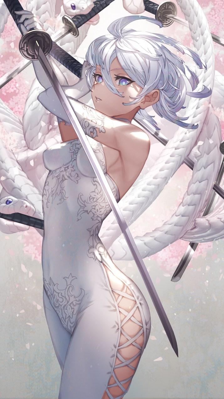 White Snake [Original] (2250×4000)