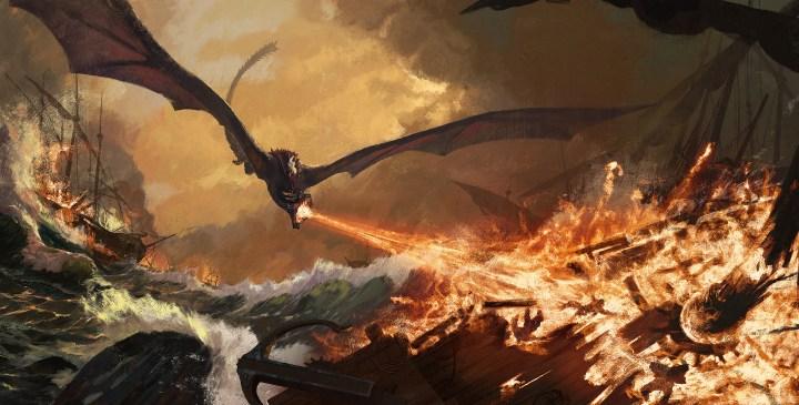 Iron fleet on fire by Vadim Simanin (GenDJiK)