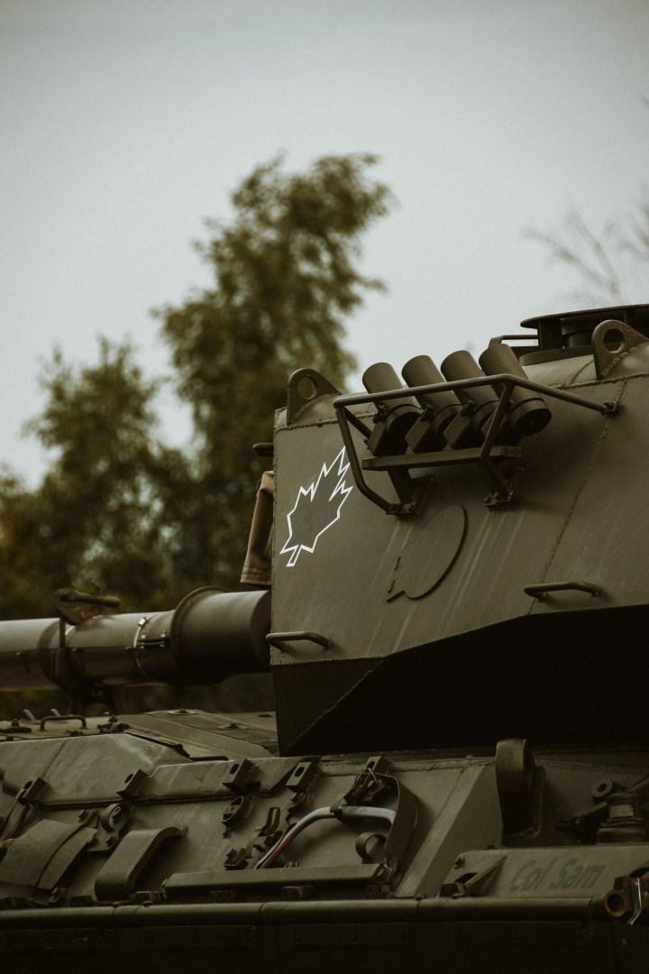 A photo of a tank I took.