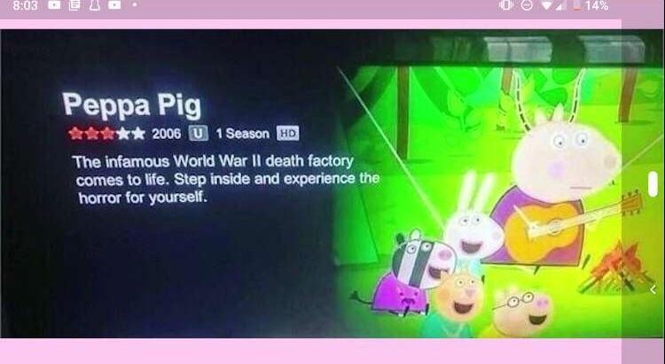 Netflix Understands Peppa Pig On Another Level Memes