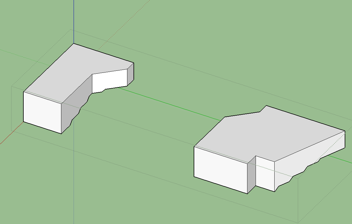 Can Sketchup Measure The Volumes Of These Irregular Shapes