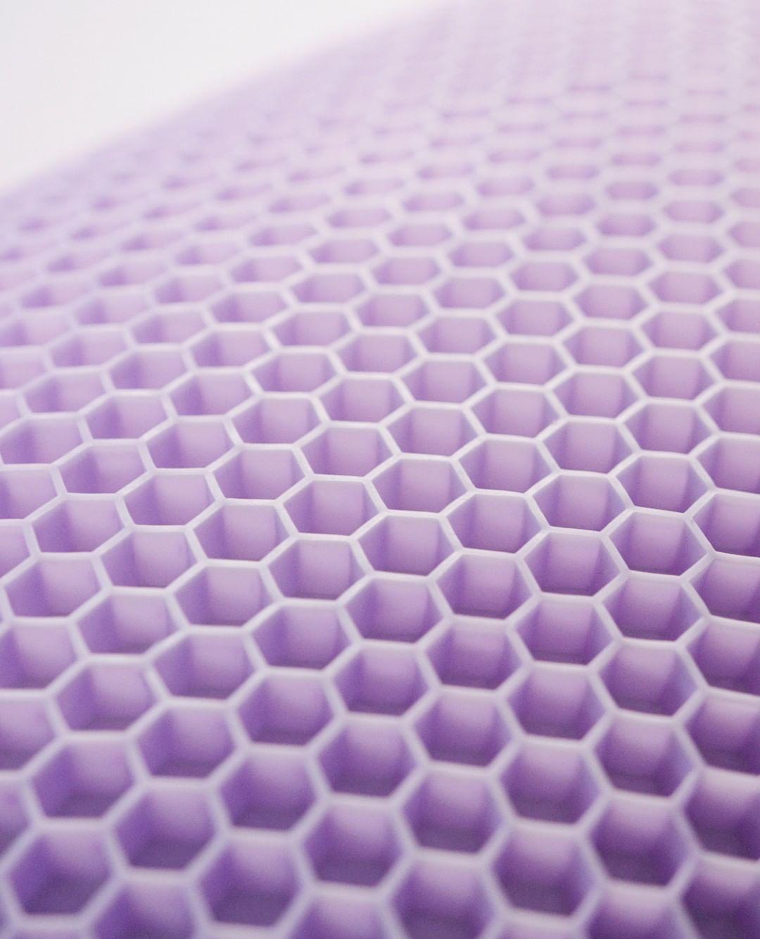 the purple harmony pillow creates the