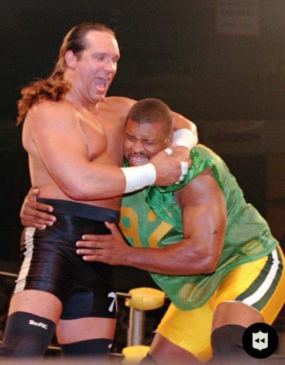 Bears Steve McMichael vs Reggie White, WCW 1997 : GreenBayPackers