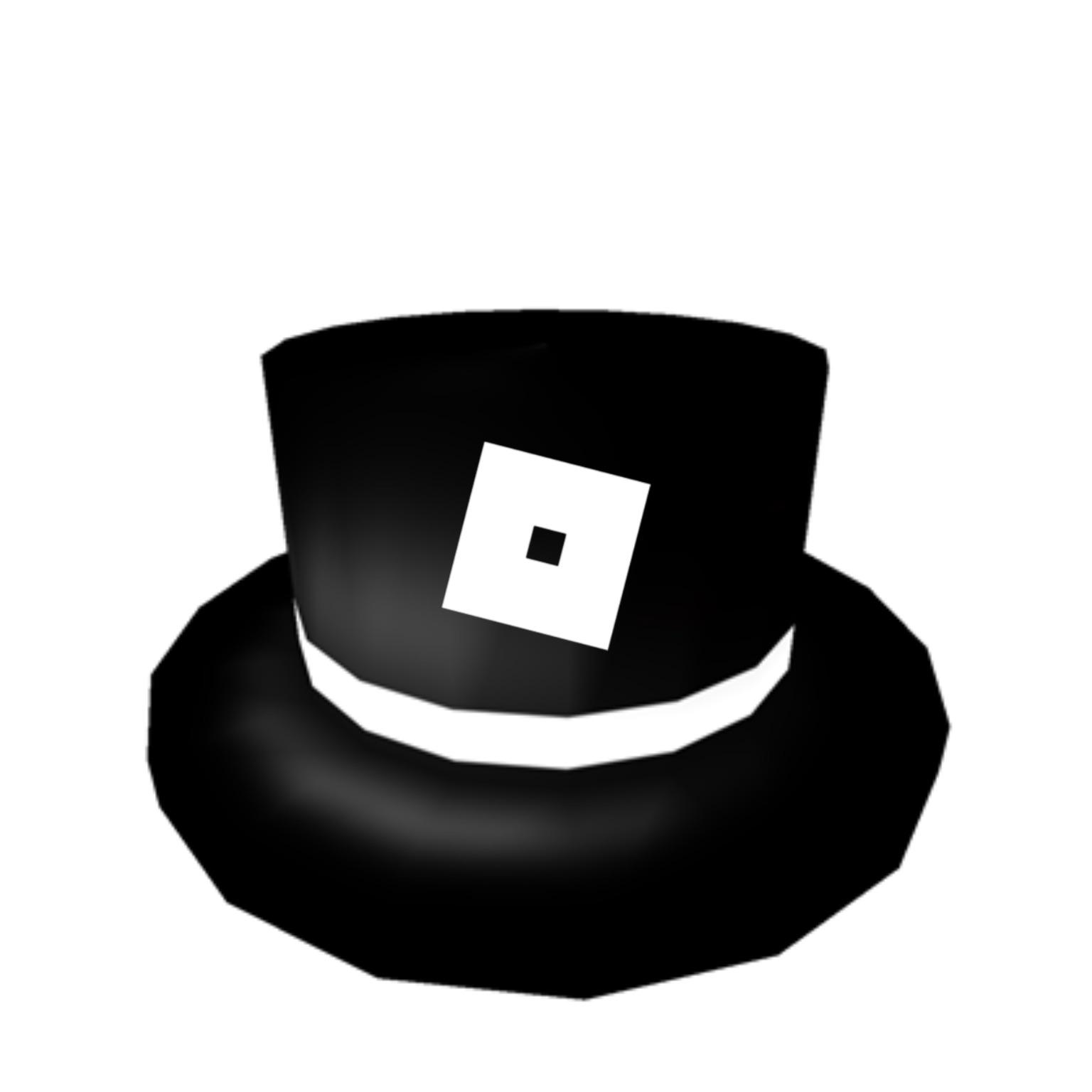 They Should Give This To Roblox Premium Members White Banded Roblox Top Hat Roblox