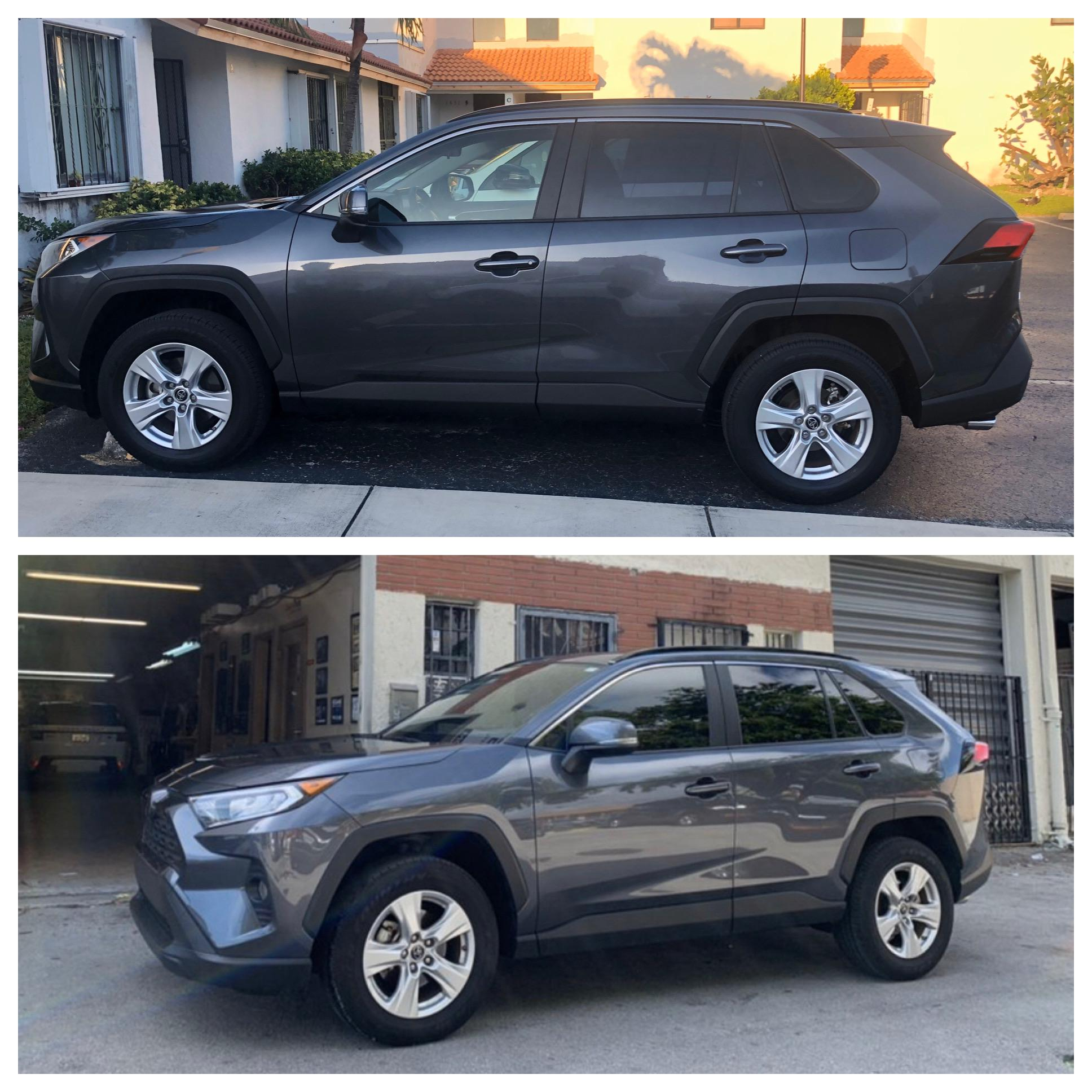 2019 Xle Window Tint Before After Rav4club