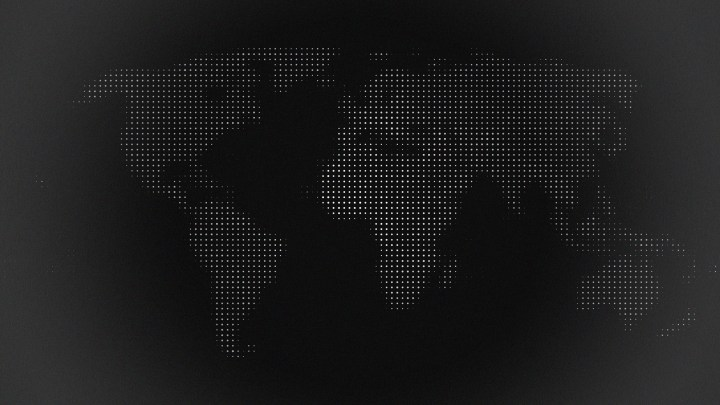 The world in dots (3840×2160)