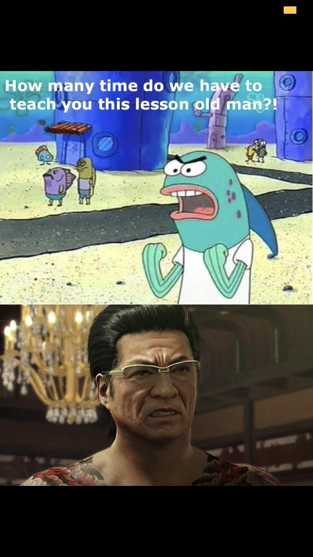 Funniest Meme Ive Seen On The Series Lol Yakuzagames