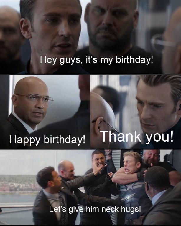 Happy Birthday Chris Evans Meme