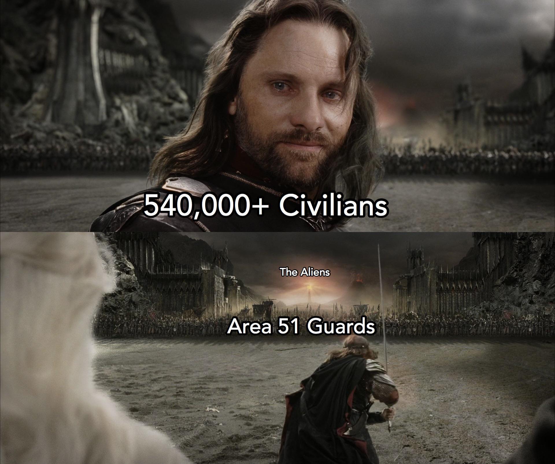 Storm Area 51 Memes