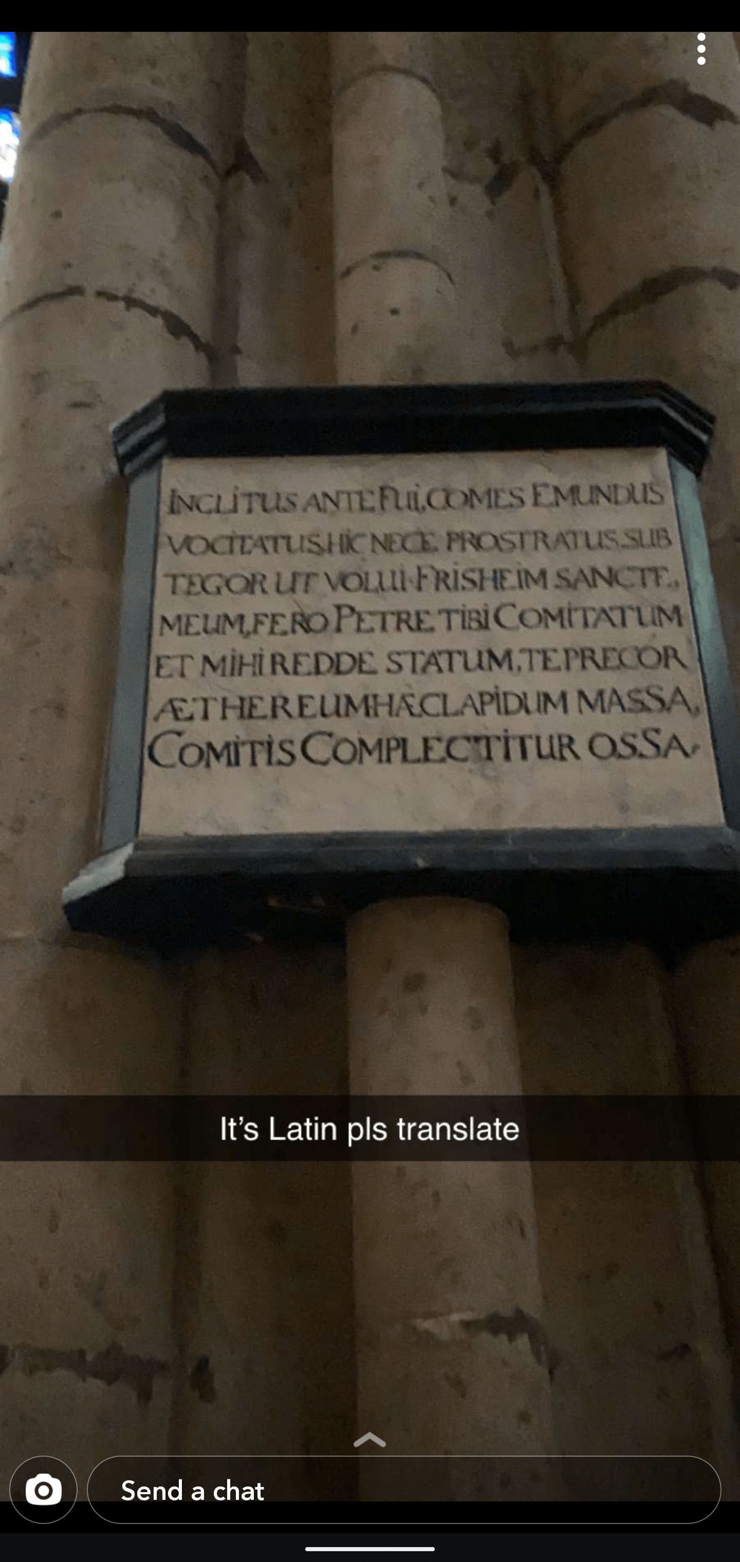 Could Someone Help Translate Latin