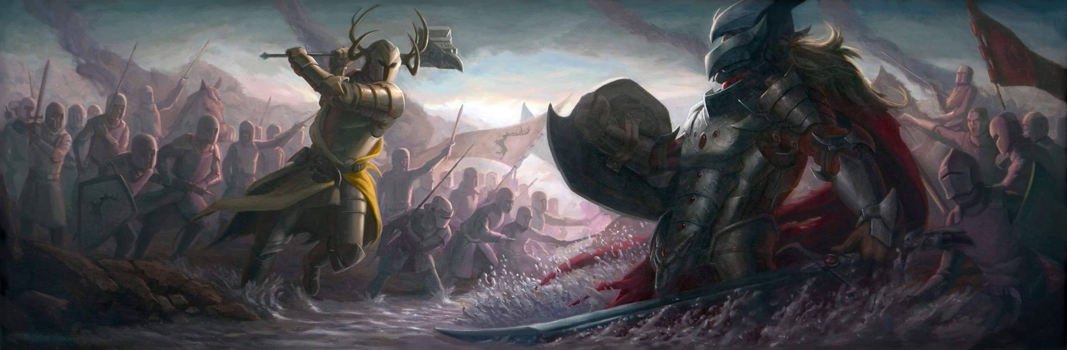 robert baratheon vs rhaegar targaryen