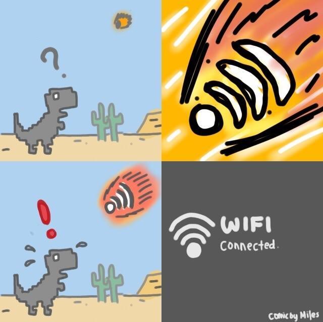 Chrome T Rex Runner Know Your Meme