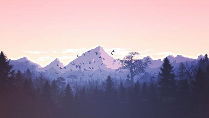 Minimal Mountains!(1920X1080)