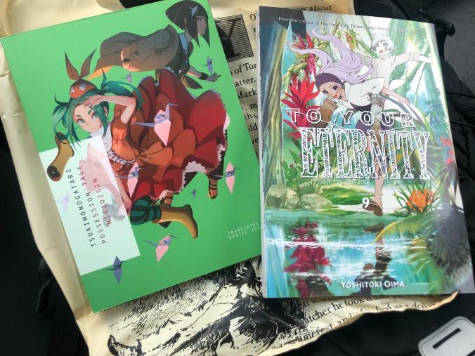 Picked up Tsukimonogatari today