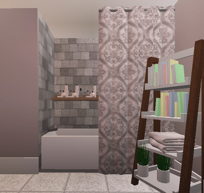 Bloxburg bathroom : Bloxburg