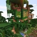Epic Jungle Treehouse Minecraft