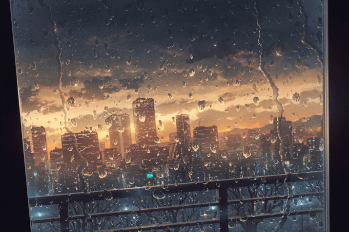 At the end of the storm by Cola Gotouryouta. [1755×1173]