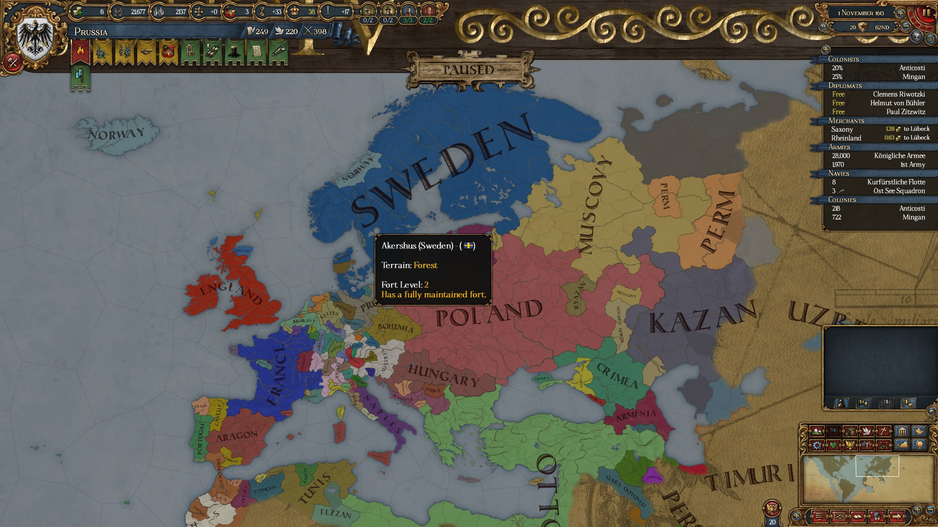 I Ve Never Been More Scared In Eu4 I M Prussia And Poland And