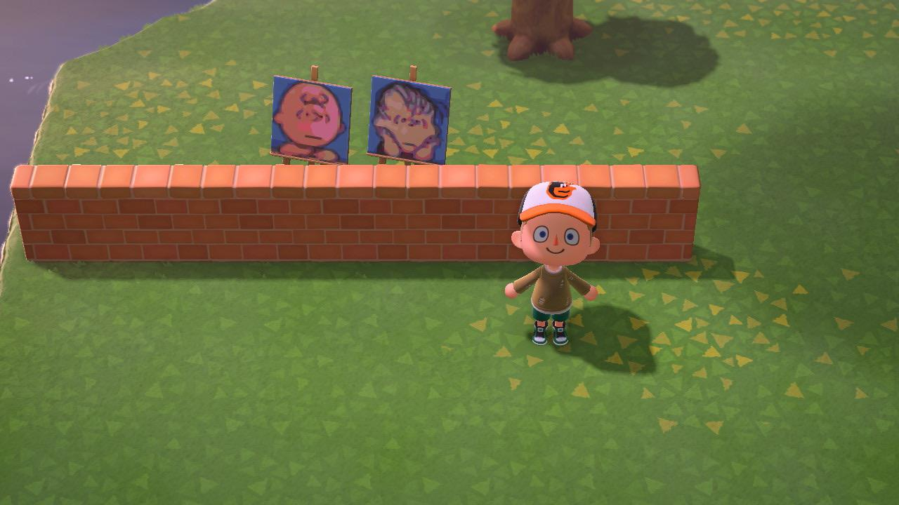 Got The Brick Fence Recipe And Immediately Knew What I Had To Do Animalcrossing