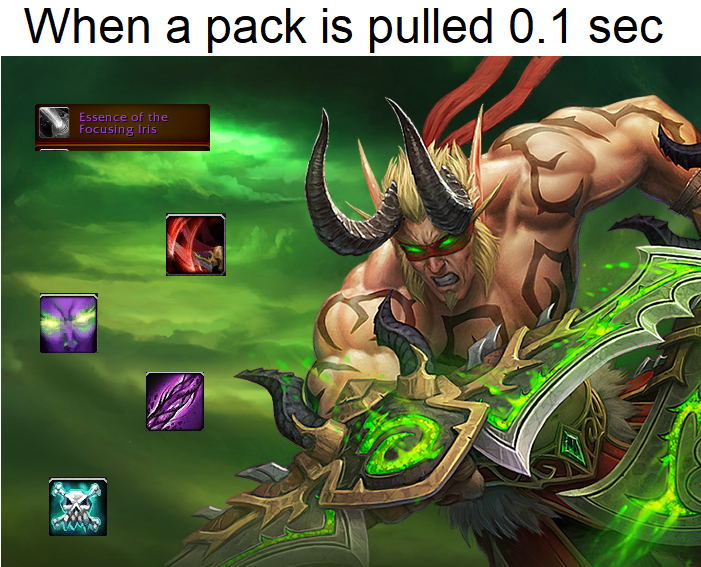 These Custom Demon Hunter Cards Perfectly Capture How The