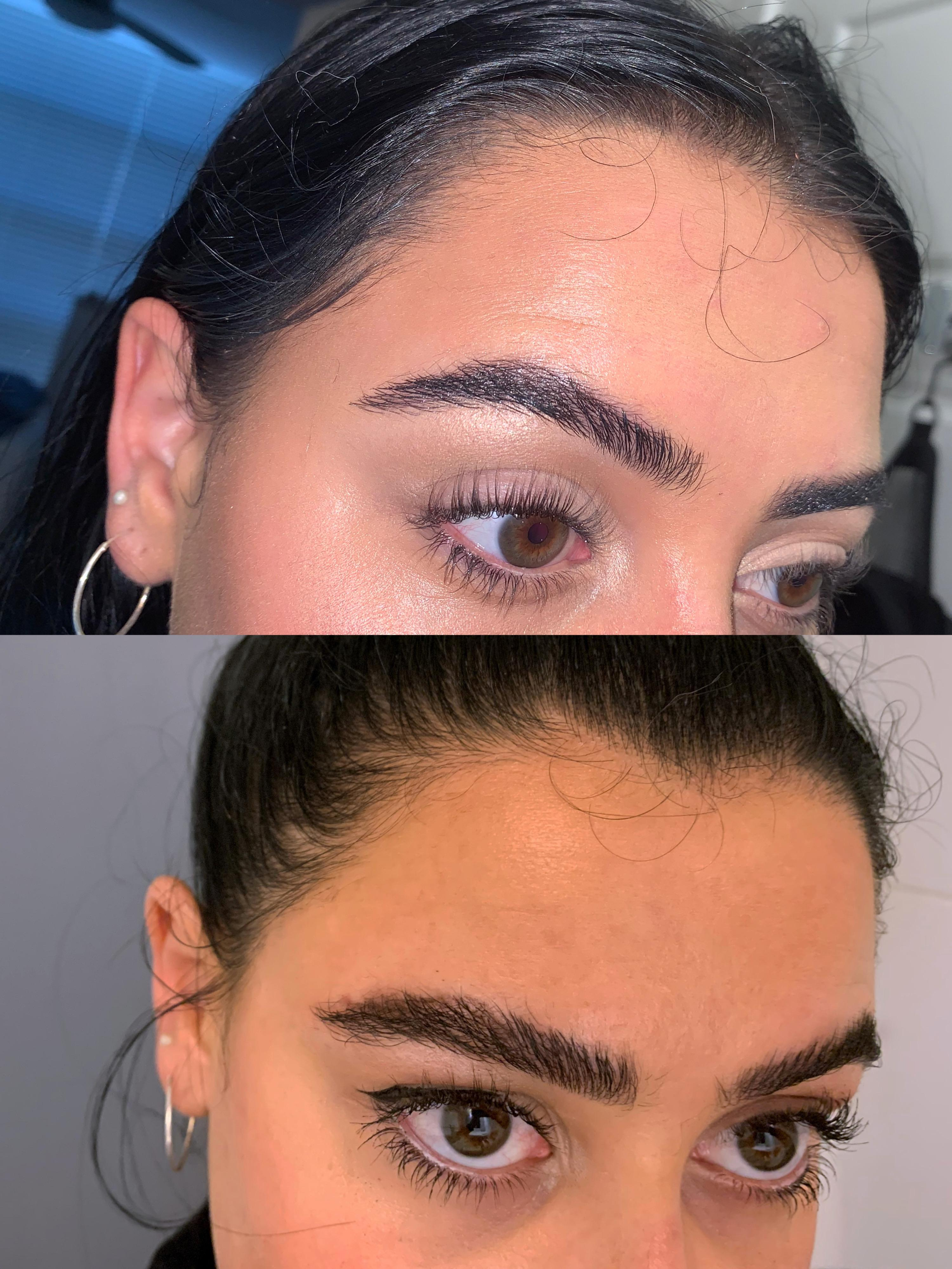 I Tried To Laminate My Eyebrows At Home So That You Don T Have To Read More In The Comments Eyebrows