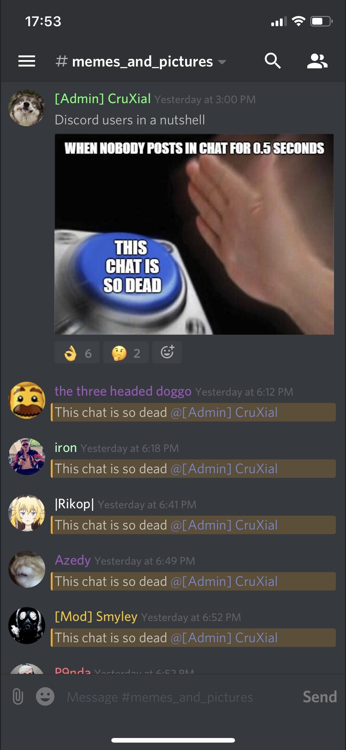 Reposting Memes On Discord Is Dangerous Discordapp