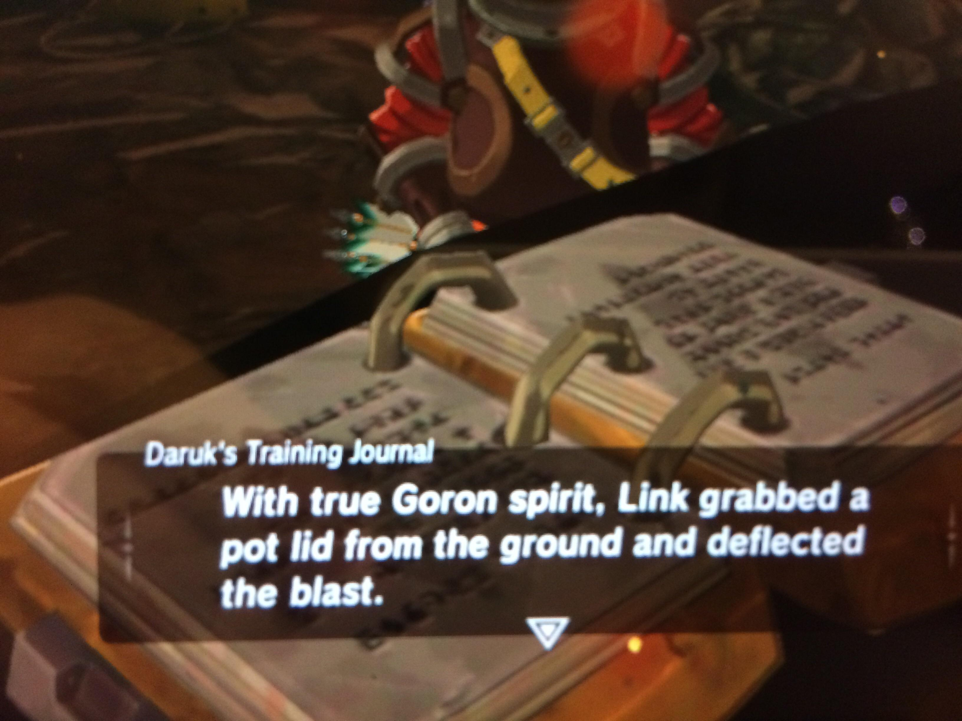 Pot Lid Larry Is Cannon Breath Of The Wild